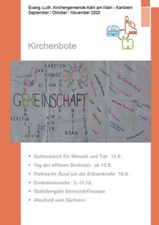 Kirchenbote September - November 2020
